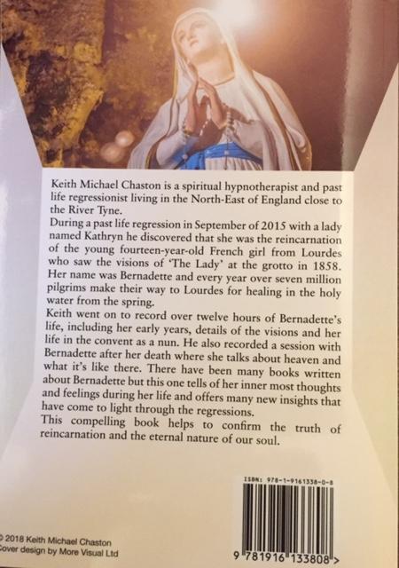 The Reincarnation of Saint Bernadette Book Keith Michael Chaston